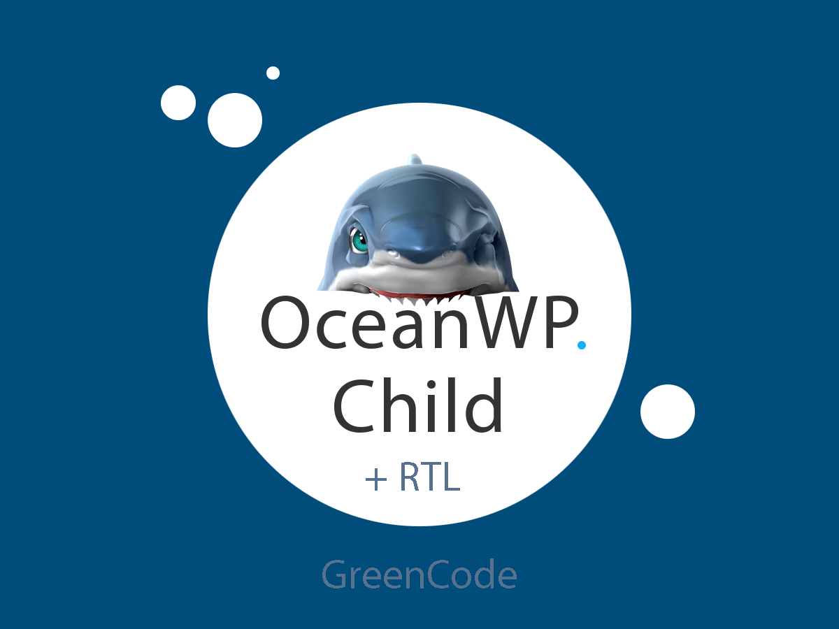 OceanWP Child theme RTL